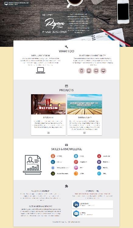 My Web Portfolio