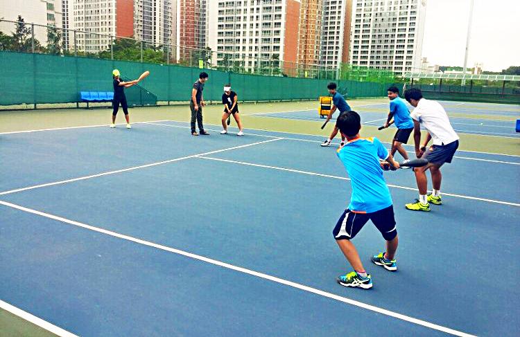 深圳東湖網球會網球訓練