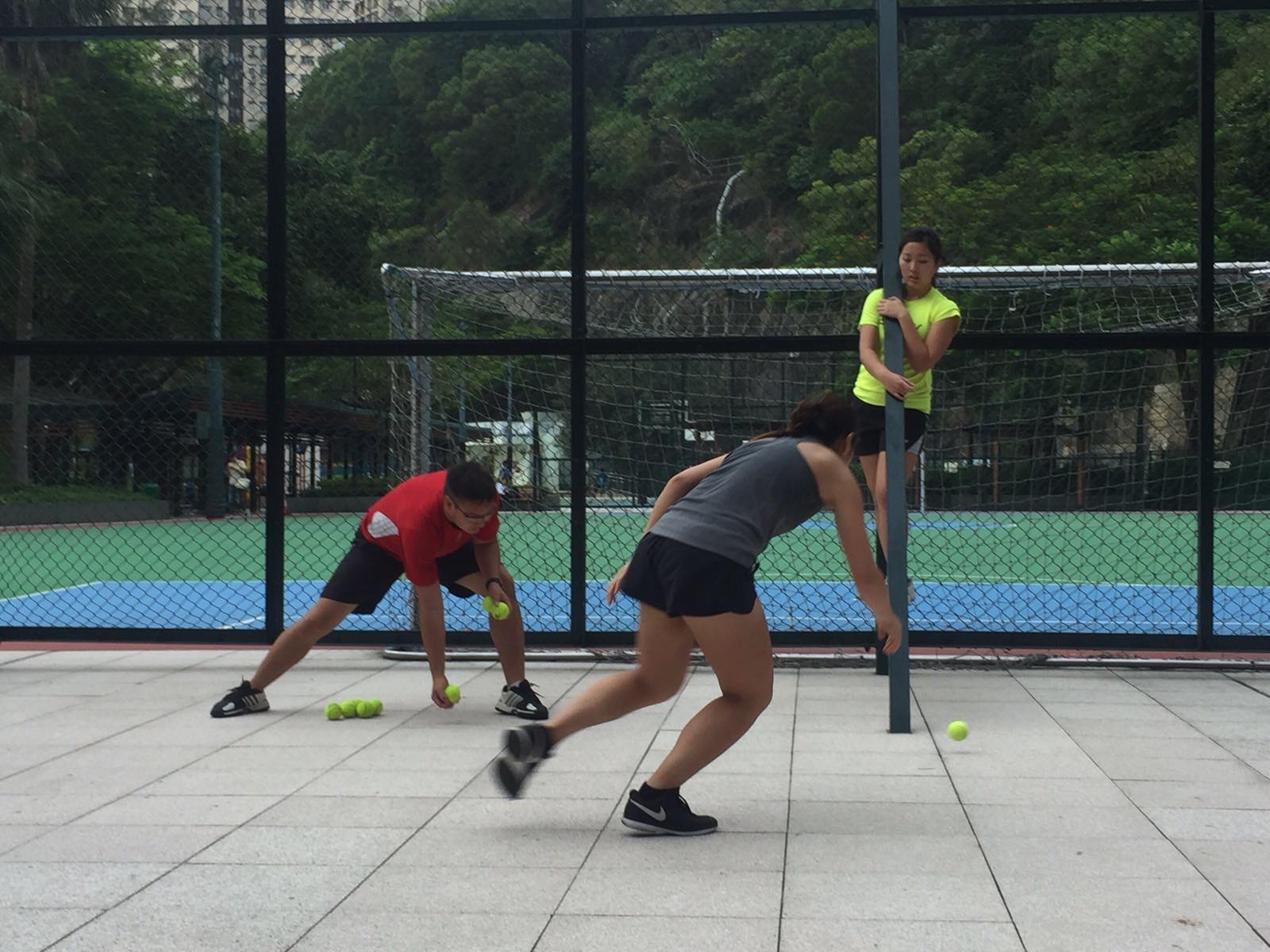 室外專項運動體能訓練