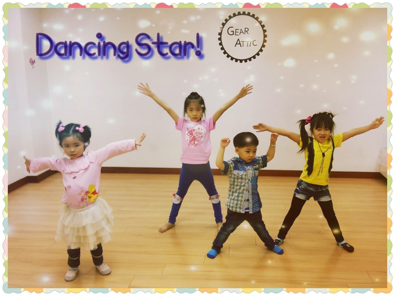 2.5-5 year-old dance class: Jazz, K-pop, Hip Hop