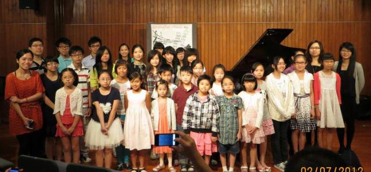 周年學生表演