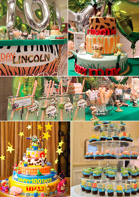 Baby 100 days birth celebration