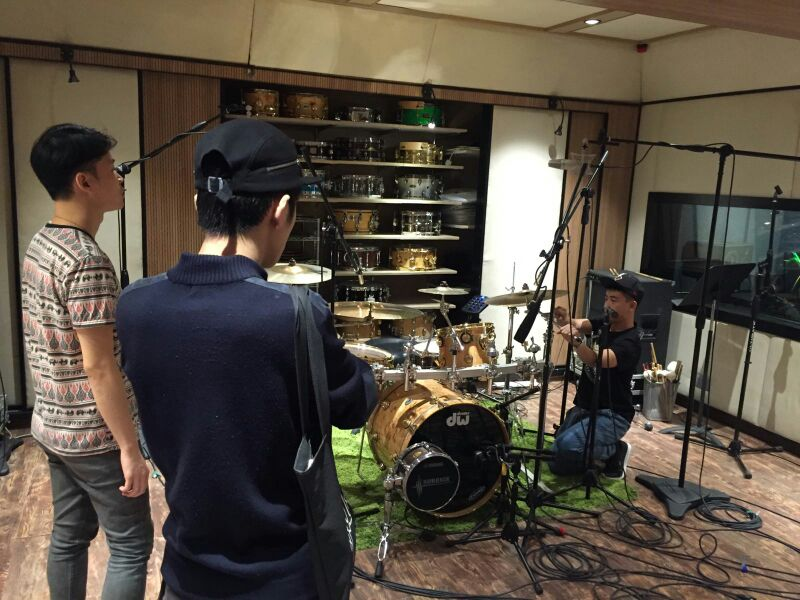 鼓樂錄音工作 2