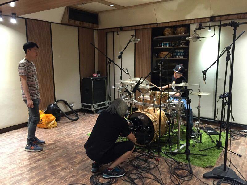 鼓樂錄音工作 1
