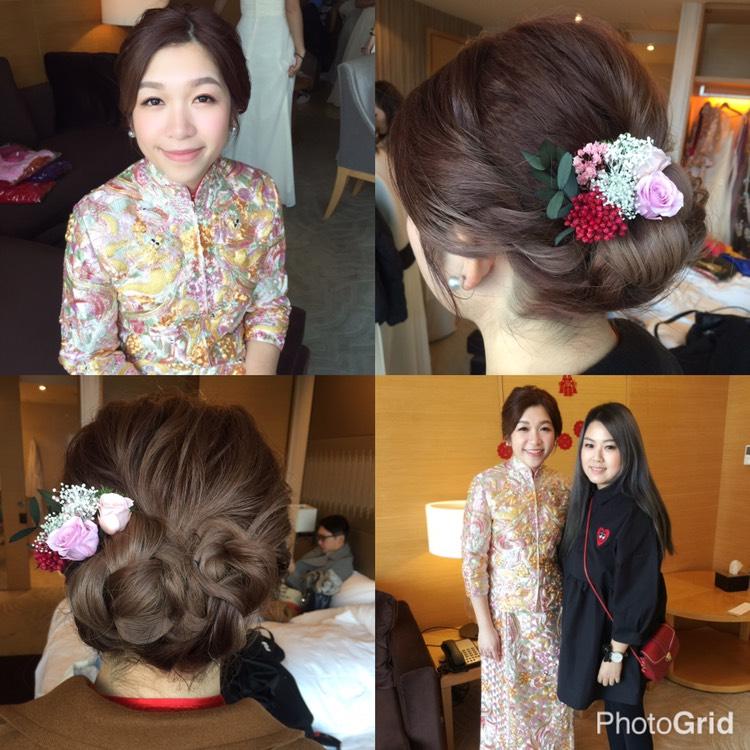 新娘裙褂造型