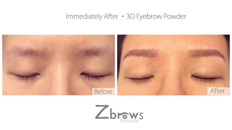 若眉毛比較弱,可考慮做眉粉眉,可以有眉形又有顏色,似畫了眉粉,約一星期效果更自然