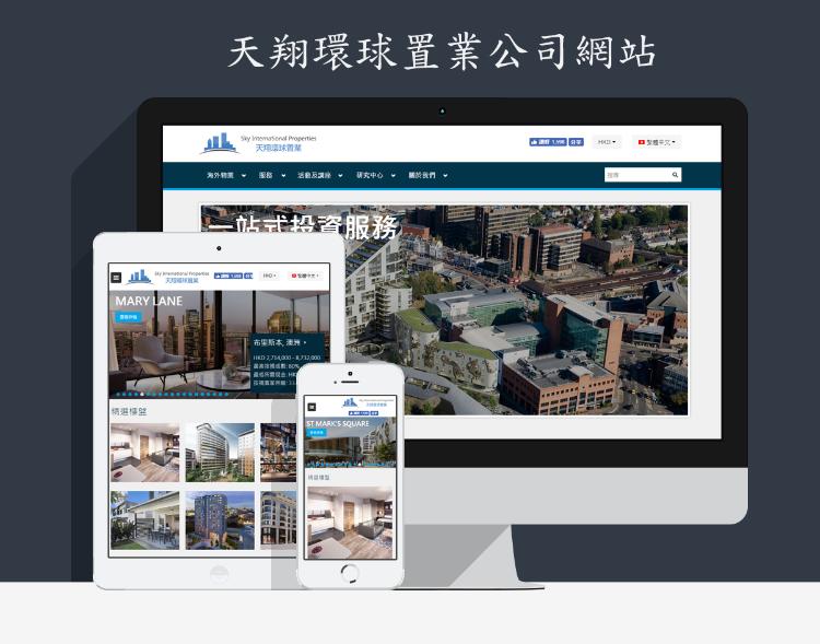天翔環球置業公司網站