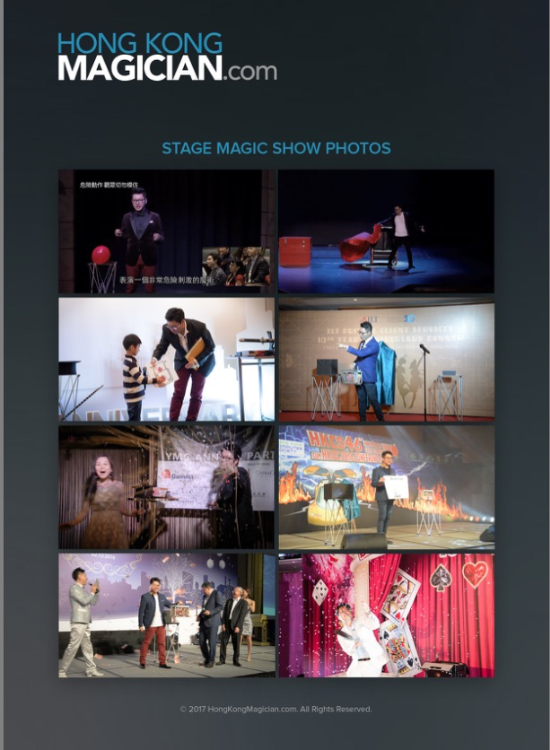 HongKongMagician.com Stage Magic Show Photos