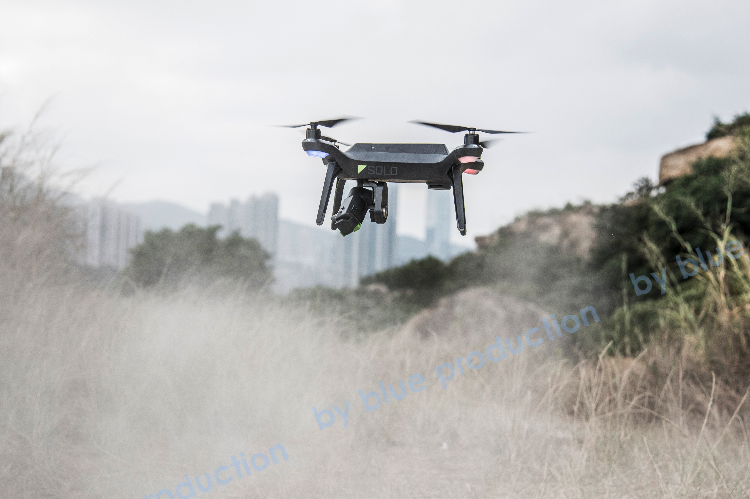 advertorial photo shoot - Solo Drone