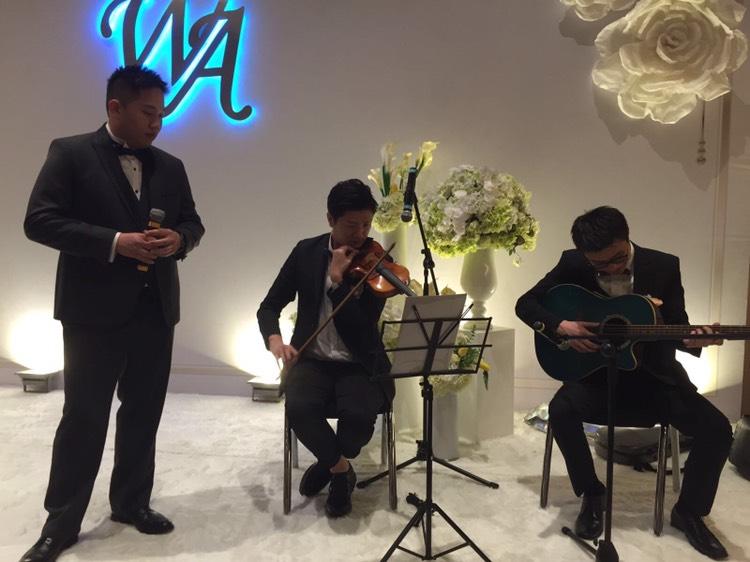 曾擔任VTC交響樂團第一小提琴手,參與各地多項大型演出