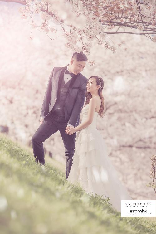 京都婚紗相, 櫻花婚紗相, 京都婚紗相價錢, 京都婚紗攝影