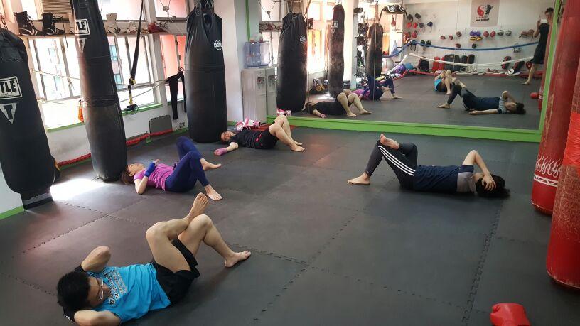 星期日 拳擊班