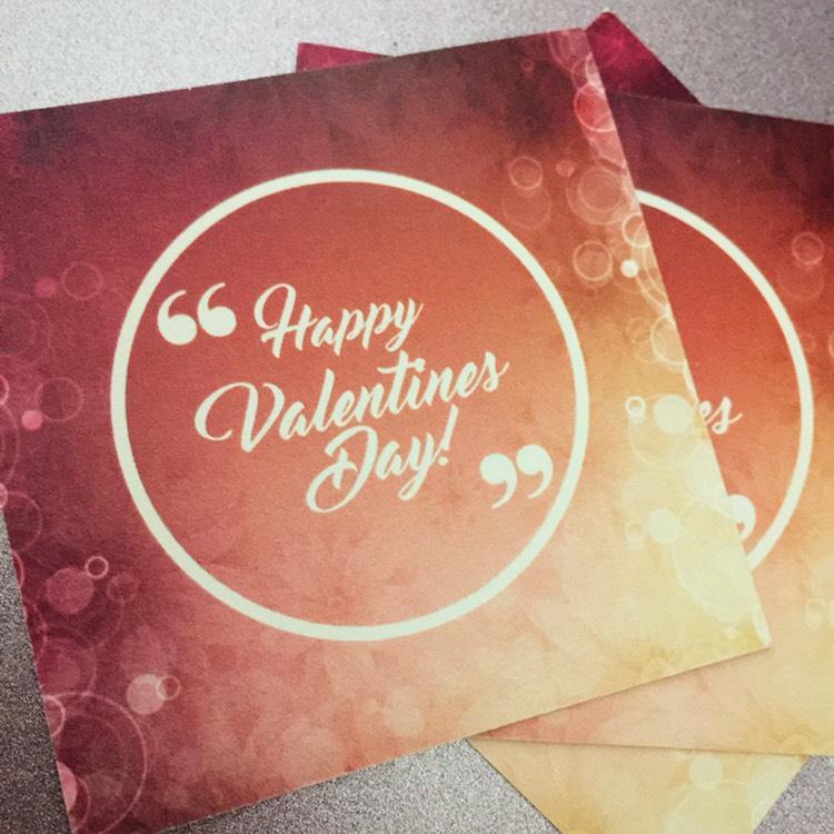 情人節禮物卡 設計