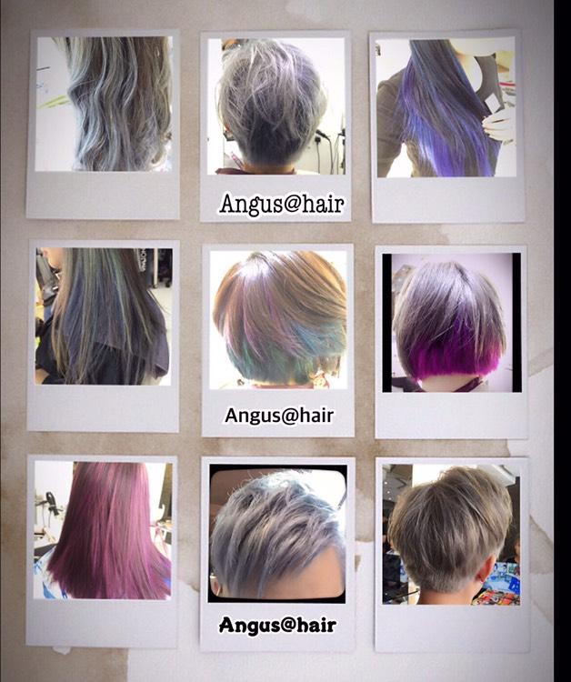 染髮,漂染上色