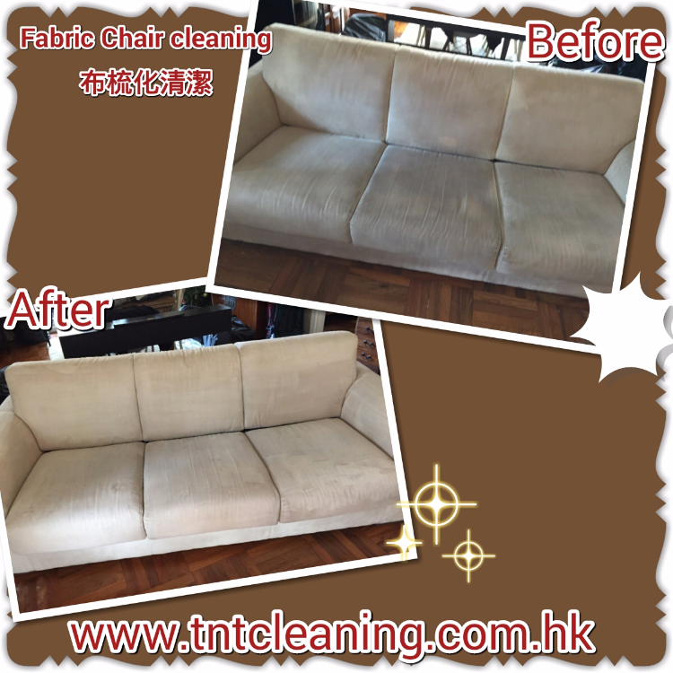 Fabric sofa deep cleaning
