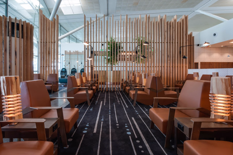 brisbane international airport  plaza lounge