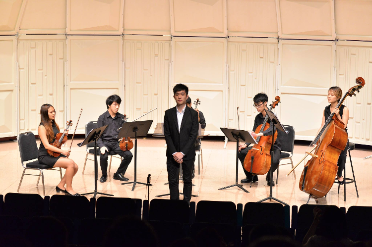 My premiere work performed in Shatin City Hall