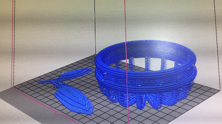 3D printing preparation-Food printing competition