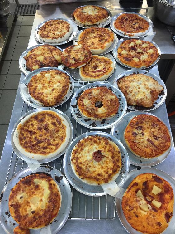 Team Building Events - Mini Pizza competition