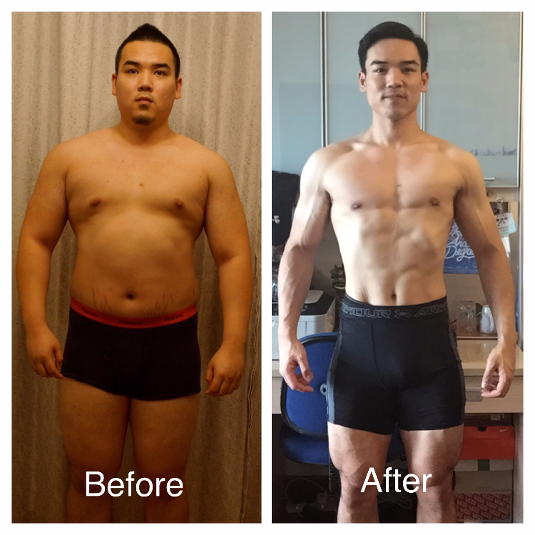 Before: 270lbs After: 193lbs