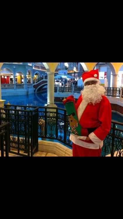 澳門威尼斯聖誕老人