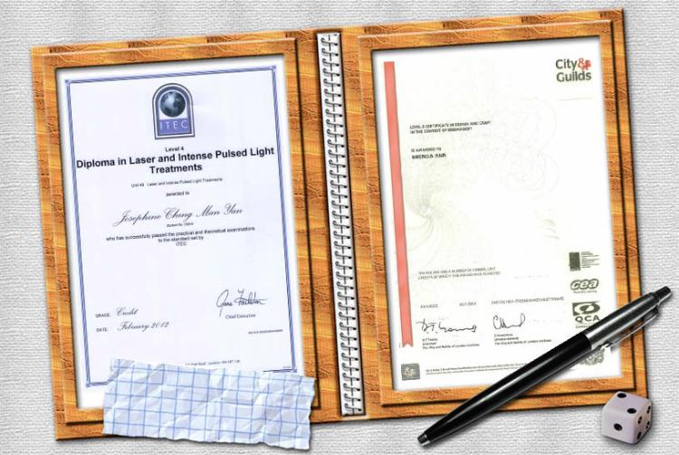 ITEC 激光及IPL治療文憑 City & Guilds 專業教學證書
