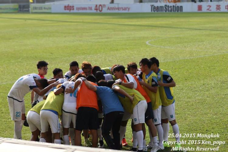 支援香港超級聯賽足球隊YFC澳滌 ( 2014 - 2015)