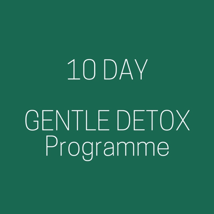 Gentle Detox in 10 days only.