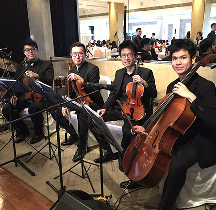 Ritzy Strings Quartet 弦樂四重奏 - Weddings & Events