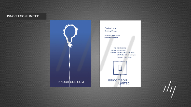 name card - INNOCITISON LIMITED