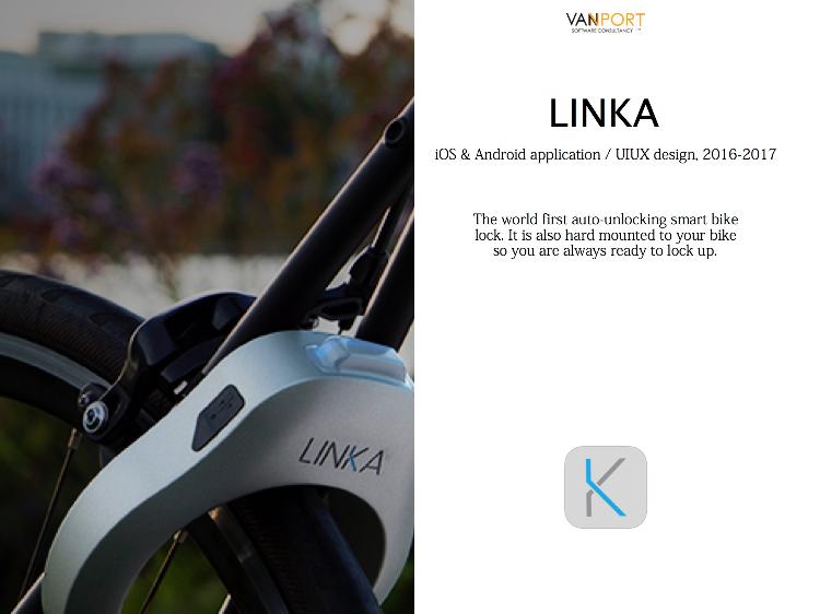 LINKA - 智能藍牙單車鎖應用程式