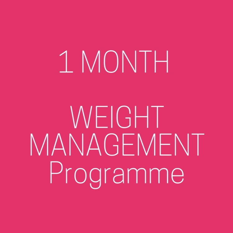 1 Month to see and feel results in weight loss.