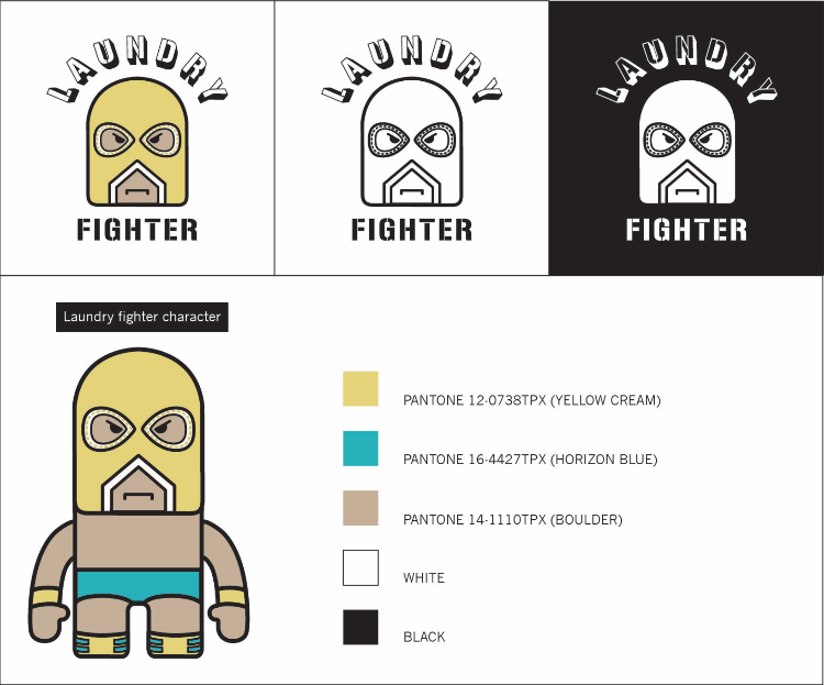 Logo Design Fashion/  Laundry Fighter