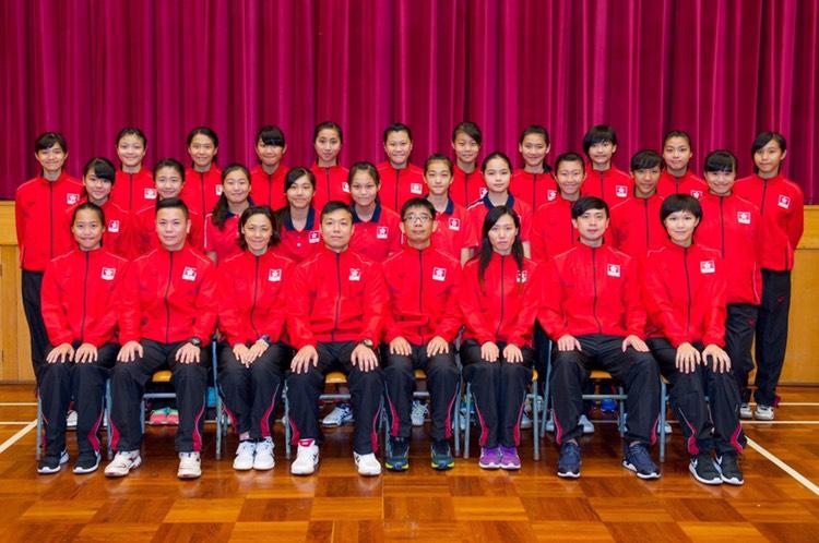 香港女子少年排球隊