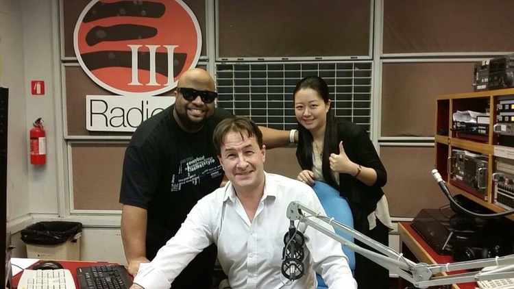 Radio Interview, RTHK Morning Brew with Phil