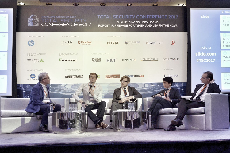 Panelist at Total Security Conference 2017