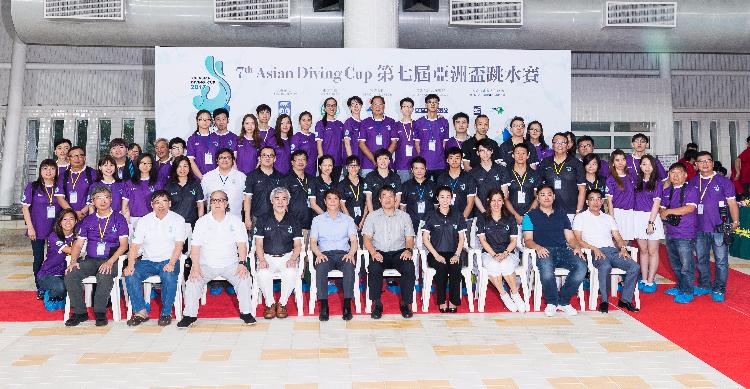 2017年6月17日 7th Asian Diving Cup 中國澳門游泳總會
