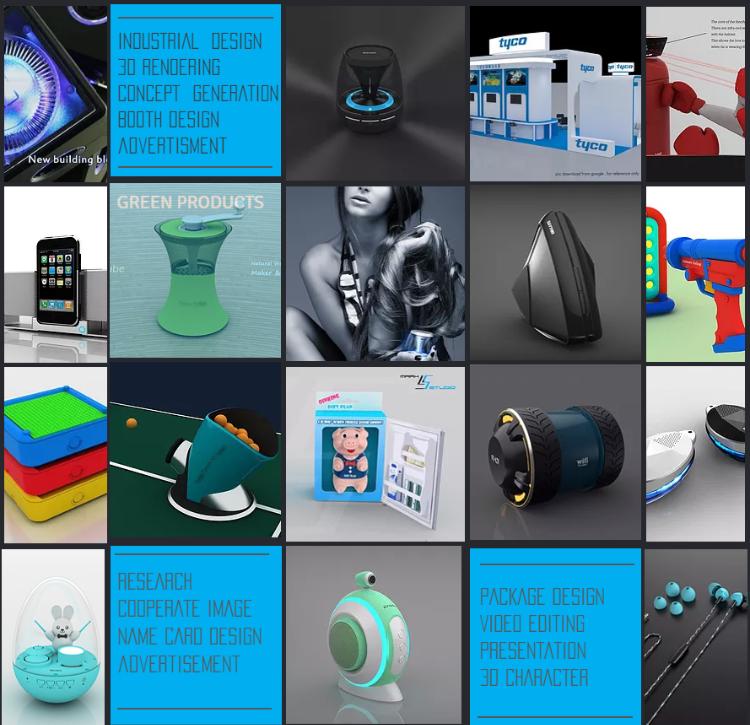 產品設計/工業設計/平面設計/展位設計/3D DESIGN/Industrial Design