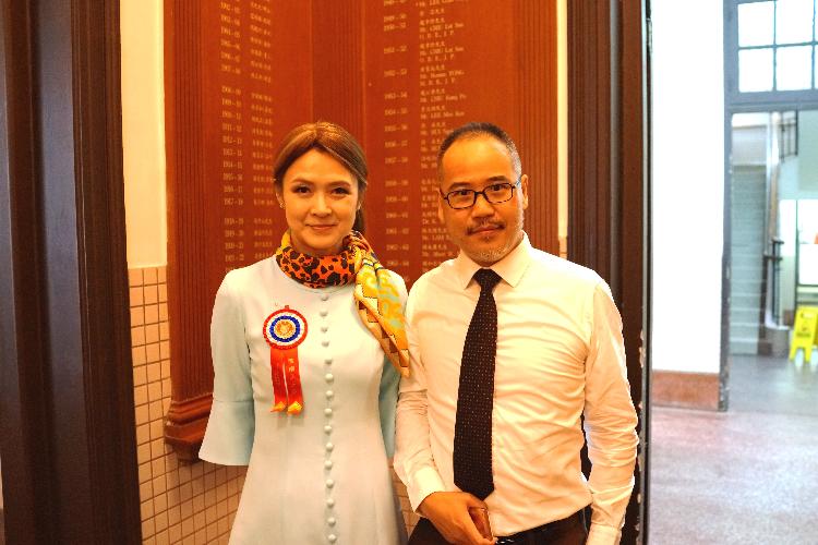 本會會長曹雪聰先生出席保良局主席陳細潔小姐就職禮