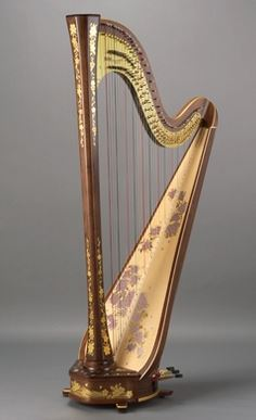 觀塘琴室使用型號 - Aoyama 47 strings pedal harp