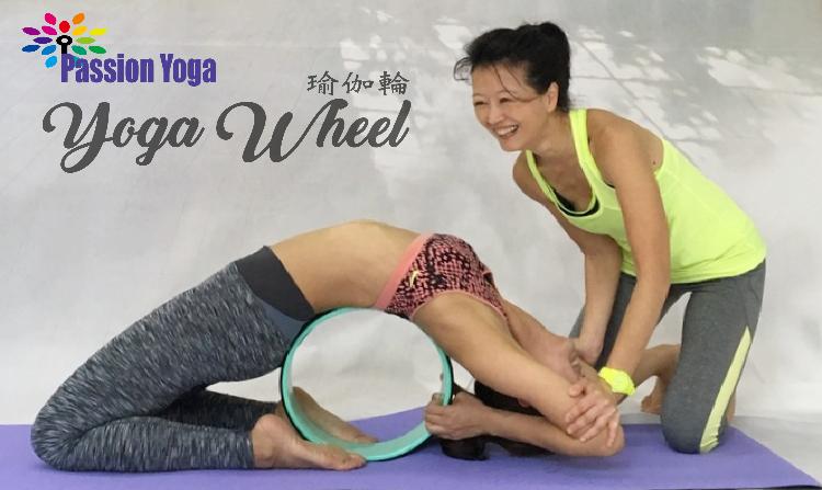 瑜伽輪 - 治療腰背痛神器, 改善慢性背部或頸部疼痛、伸展腹部、令脊椎回復天然彎曲弧度