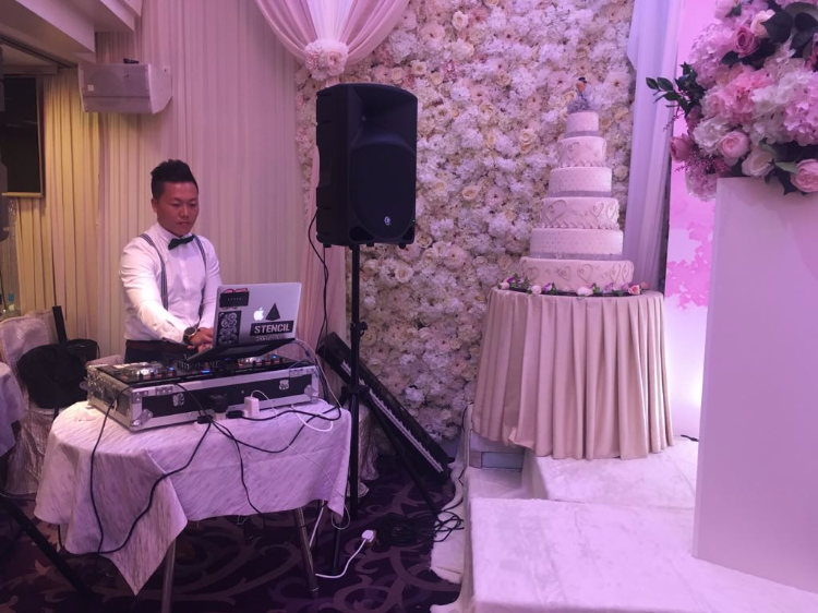 Djing at weddings