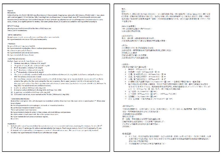 English to Chinese Translation Example