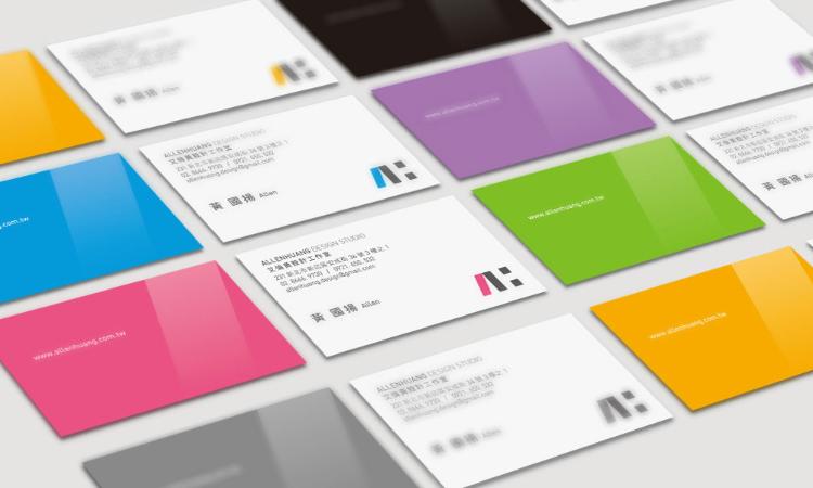 ALLENHUANG DESIGN / 品牌識別設計, 平面設計