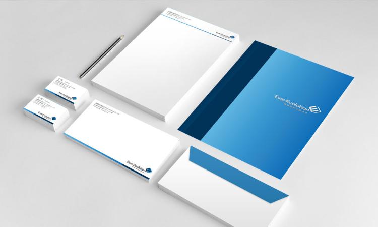 EverEvolution / 企業識別設計, 平面設計