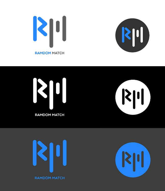 Logo design for Random Match / 2017