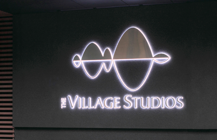 Logo and sign design for recording studio