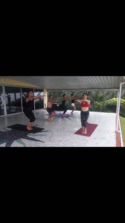 Yoga practice for beginner in Gao