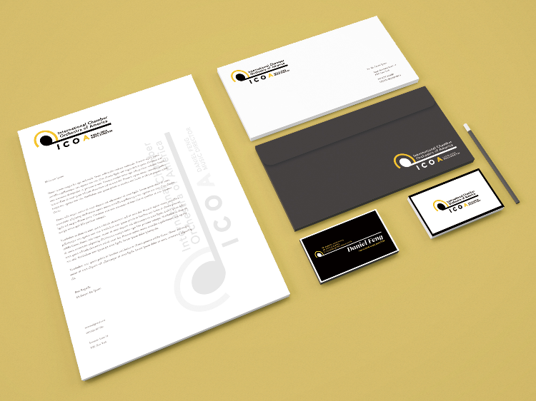 Brand identity - Brand logo and business card