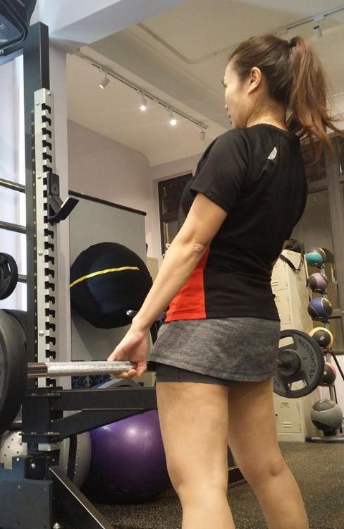 女士也要重量訓練